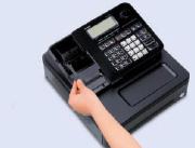 """Das """"Drop-in"""" Papierladesystem ermöglicht einen schnellen Rollenwechsel."""