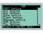 Große, funktionale 10-Zeilen LCD-Anzeige im Detail