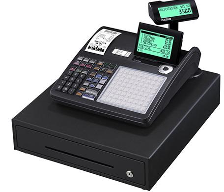 CASIO Registrierkasse SE-C3500 mit Kundenanzeige (GoBD/GDPdU-konform)