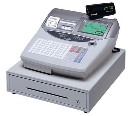 GoBD/GDPdU-konforme CASIO Registrierkasse TE-2400